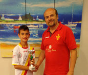 Claudio La Torre vincitore Under 12