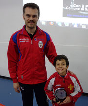 Riccardo Natoli 3° classificato Under 12