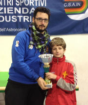 Alessandro Natoli 2° classificato cat. Under 19