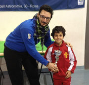 Riccardo Natoli 2° classificato cat. Under 12