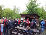 7-Seen-Wanderung, Cospudener See, Neue Harth, Rastplatz, Catering
