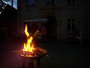 Café, Markkleeberg, Cospudener See, 7-Seen-Wanderung