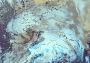 Image satellite de la tempête Xynthia