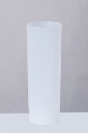verre tubo plastique