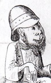 Bertrand et Raton : caricature de Locamus