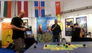 Turniersieger Kolja Stratmann (links)