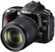 """Зеркальный фотоаппарат """"Nikon D90"""""""