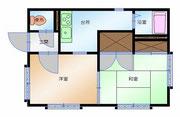 C101号室 間取り図