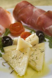 Пршут и сыр в Хорватии
