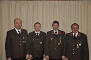v.l.: Christian Kranzer, Stefan Tagwerker, Ing. Eduard Paireder, Georg Kragl jun.