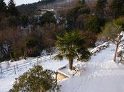 Les bancels Sud sous la neige