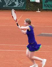 Neue Vereinsmeisterin: Sabrina Kniewasser