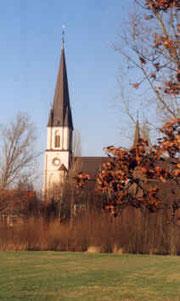 Basilika St. Ida aus Richtung Hovestadt