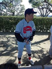 杉本選手 #4