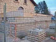 Travaux d'extension de la salle Gilbert Mercelat - Février 2011