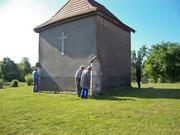 Le groupe de bénévoles pour la sauvegarde et la restauration de la chapelle Sainte Catherine