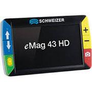 žepna elektronska lupa eMag 43 HD
