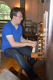Organist Peer Schober