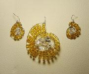 M-0007 - Ammonit gelb