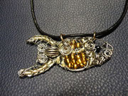 M-0001 - Fisch gold / silber