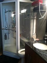 秘密機能つきのシャワー