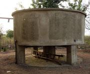cuve de récupération d'eau - togo