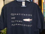 透明系統ゼブラフィッシュTシャツです  (メダカじゃないよ)