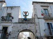 Farinella über dem Porto Basento