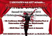Soirée Cabaret - Association Malaury