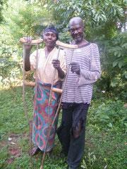 Polycarps Eltern, Kenia