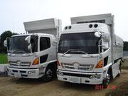 中型ダンプ車(8t車)