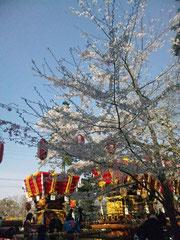 賀集八幡神社 春祭り ふとんだんじり
