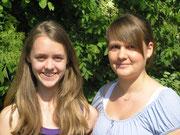 Die neugewählten Jugend- gruppensprecherinnen Katharina Rau (links) und Laura Strobel