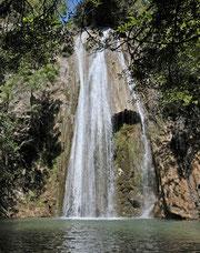 cascade des Trompines.