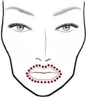 Foto : Facebook Maquillaje de día