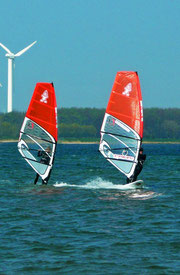 Jay & me train in Wulfen/Fehmarn