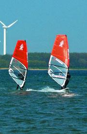 Jay & me train in Wulfen/Fehmarn