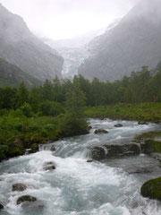 (Briksdal-Gletscher)
