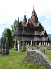 (Größte Stabskirche Norwegens in Heddal)