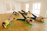 Gruppe Pilates Training Mainz Oase