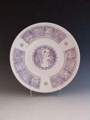 Zsolnay Plate, 1980s
