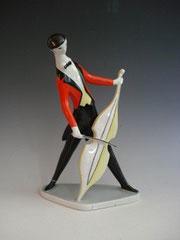 Zsolnay, János Török, Figurine, 1960s