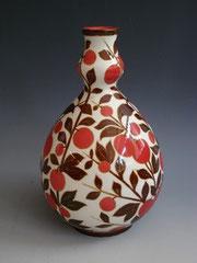 Zsolnay Cherry Vase, 1910s
