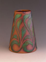 Zsolnay Vase, 1898-1900