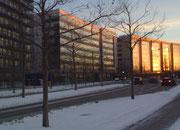 Häuserfront in Kopenhagen