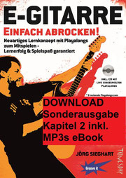 Cover des eBooks E-Gitarre Einfach Abrocken Kapitel 2