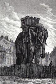 El elepante de la Bastilla (Gustave Brion)