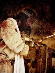 Representación de la pasion de Jesús. Coatlinchan 2009.