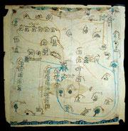 Mapa códice de Koatlichan.