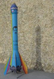 Austrofred Rakete, A.ustrofred rocket, Franz A. Wenzl Rakete